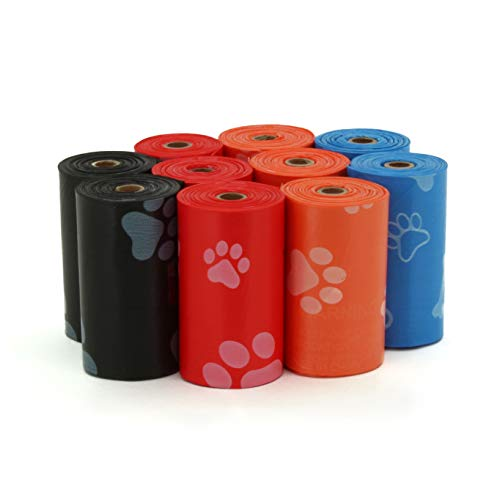 Best Pet Supplies Dog Poop Bags for Waste Refuse Cleanup, Doggy Roll Replacements for Outdoor Puppy Walking...