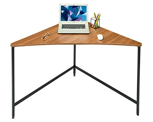 Saygoer Corner Computer Desk Home Office Workstation Triangle PC Laptop Gaming Table Industrial Study Writing...