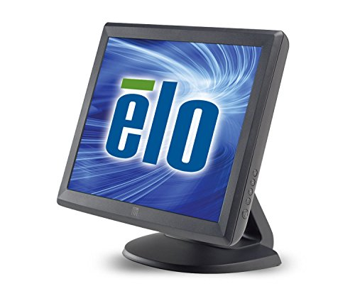 Elo 1515L Desktop Touchscreen LCD Monitor - 15-Inch - Surface Acoustic Wave - 1024 x 768 - 4:3 - Dark Gray...