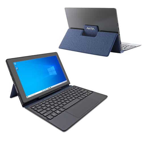 AVITA Magus II 10.1' HD Tablet with Detachable Keyboard, Windows 10, Intel Celeron N4000 Processor, 4GB Ram &...