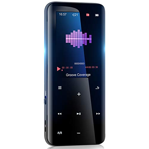 32GB Mp3 Player with Bluetooth 5.0 - Portable Digital Lossless Music Player for Walking Running,Super Light...