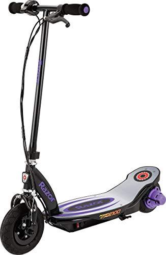 Razor Power Core E100 Electric Scooter - Aluminum Deck - Purple - FFP