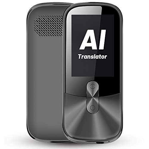 ANFIER Voice Translator Device with 2.4 inch Touchscreen Two-Way Electronic Translator Device (W02), AI...