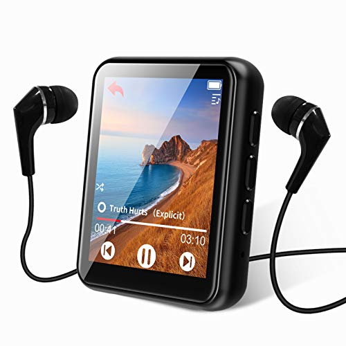 MP3 Player Bluetooth 5.0 Touch Screen Music Player 16GB Portable MP3 Player with Speaker high Fidelity...