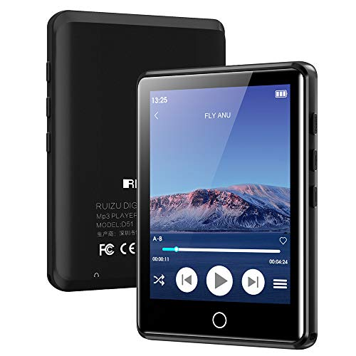 MP3 Player with Bluetooth 5.0, 2.8' Full Touchscreen 16GB Mp3 Player, HiFi Lossless Sound Music Player with...