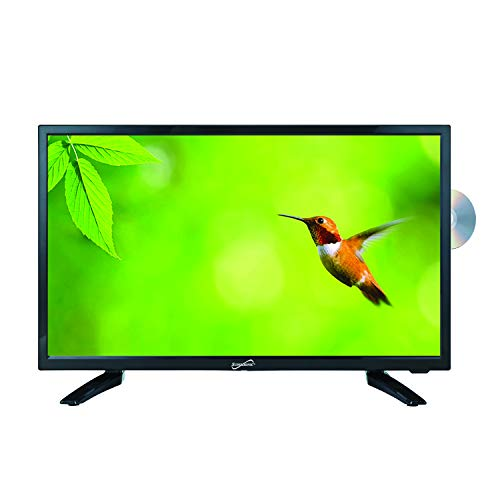 SuperSonic SC-1912 LED Widescreen HDTV 19', Built-in DVD Player with HDMI, USB, SD & AC/DC Input: DVD/CD/CDR...