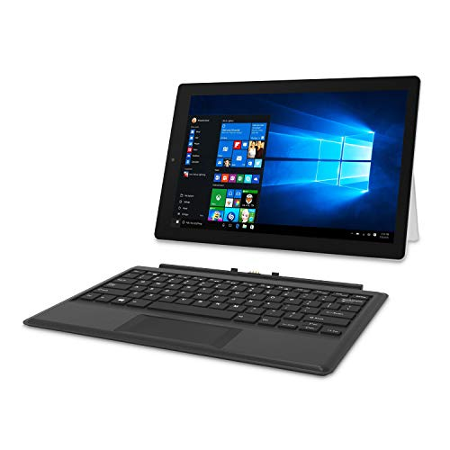 RCA 12.2' Windows 10 2-in-1 Tablet with Travel Keyboard