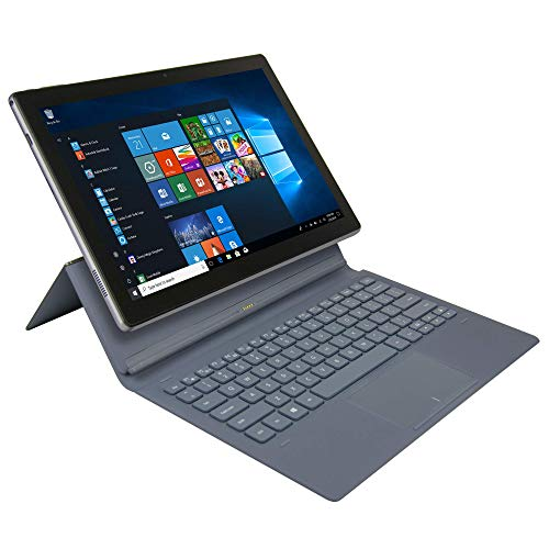 Nuvision NES11-C432SSA Encite Split 11.6' 2-in-1 Tablet with Keyboard, Windows 10 Home, Intel Processor, 4GB...