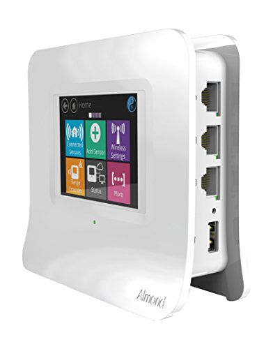 Securifi AL3-WHT-US Almond 3 (White): Complete Smart Home Wi-Fi System - Easy to Set up Dual Band Gigabit...