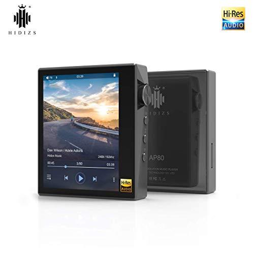 HIDIZS AP80 Hi-Fi Bluetooth MP3 Player, Portable High Resolution Digital Audio Player with LDAC/aptX/DSD,...