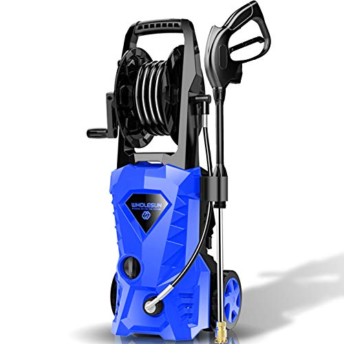 WHOLESUN 3000PSI Electric Pressure Washer 2.4GPM Power Washer 1600W High Pressure Cleaner Machine with 4...