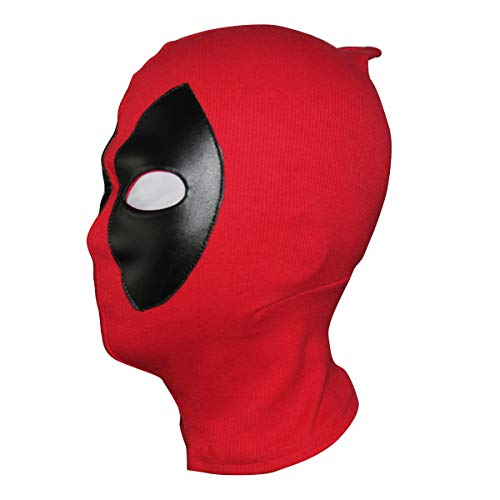 Deadpo_ol Mask Costume Halloween mask Hood Cotton Spandex Leather for Kids Adult