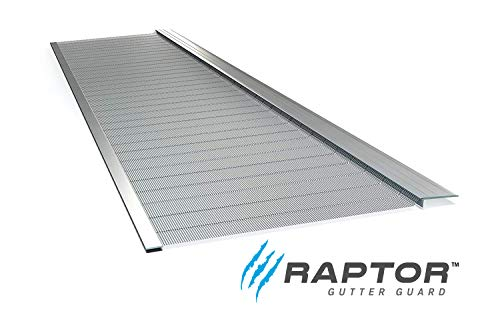 Raptor Gutter Guard | Stainless Steel Micro-Mesh, Contractor-Grade, DIY Gutter Cover. Fits Any Roof or Gutter...