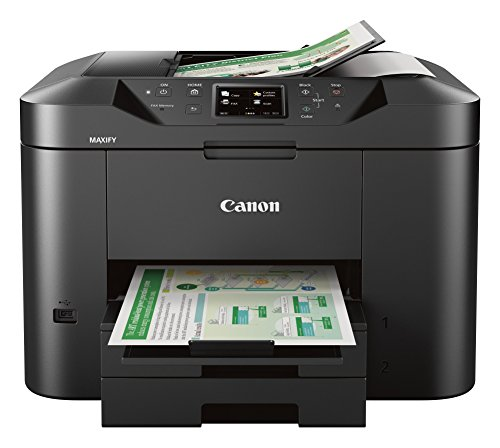 Canon Office and Business MB2720 Wireless All-in-one Printer, Scanner, Copier and Fax with Mobile and Duplex...