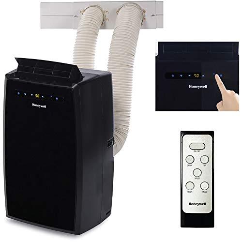 Honeywell, MN12CEDBB 12,000 BTU Air Portable Conditioner with Dual Hose, 12000, Black