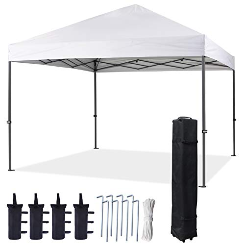 COOSHADE 12X12Ft Large Straight Leg Pop Up Canopy Tent,Instant Sun Protection Shelter,Portable Cool...