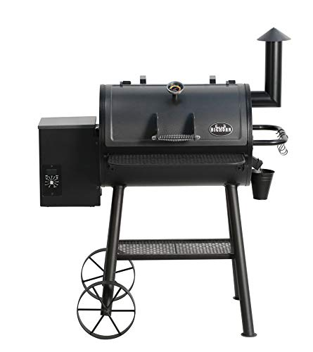 BIG HORN OUTDOORS Wood Pellet Grill & Smoker, BBQ Grill with Digital Auto Temperature Control and Temperature...