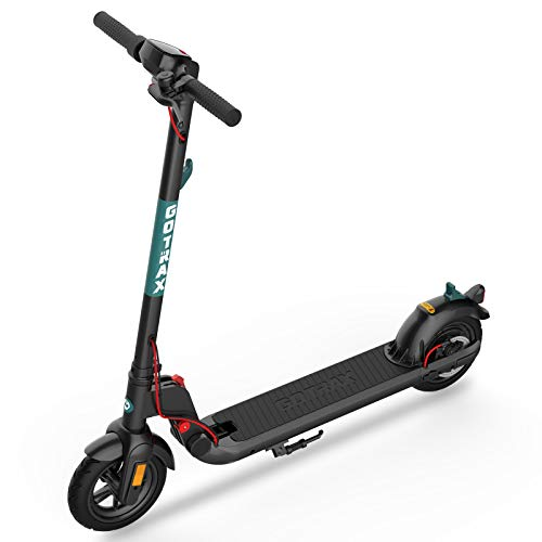 GOTRAX Commuting Electric Scooter - 8.5' Air Filled Tires - 15.5MPH & 15 Mile Range Folding E Scooter for...