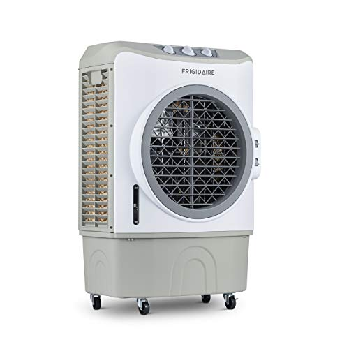 FRIGIDAIRE Indoor and Outdoor Evaporative Cooler, 1650 CFM with Oversized 10.6 Gallon Water Tank and...