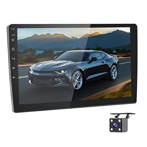 """Car Stereo Double Din Car Radio Android 8.1 Audio 9""""2.5D HD Touch Screen in Dash Car MP5 Player with..."""