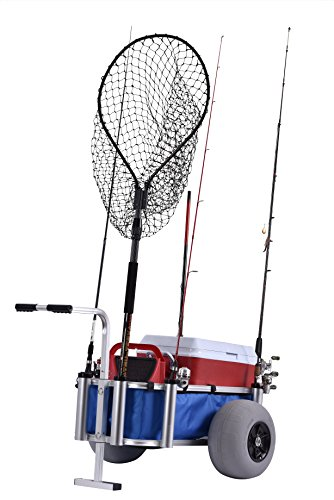 Muscle Carts HDBC-Blue Fish and Marine Cart, 27' Height, 40' Width, 30' Length,