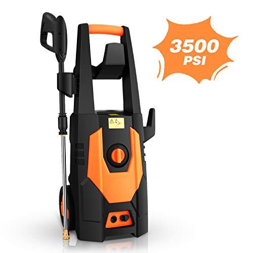 mrliance 3500PSI Electric Pressure Washer, 2.0GPM Electric Power Washer High Pressure Washer with Spray Gun,...