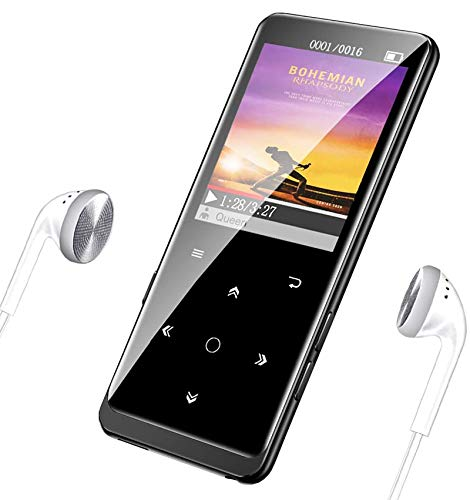 16GB MP3 Player, Supereye MP3 Player with Bluetooth 4.1, Portable HiFi Lossless Sound MP3 Music Player with FM...