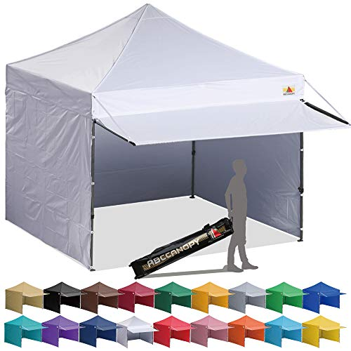 ABCCANOPY Canopy Tent 10 x 10 Pop-up Instant Shelters Commercial Portable Market Canopies with Matching...