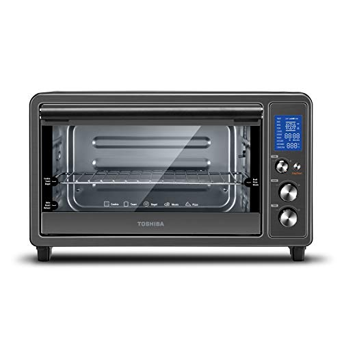 Toshiba Digital Toaster Oven with Double Infrared Heating and Speedy Convection, Larger 6-slice/12-inch...