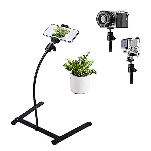 Photo Copy Pico Projector Stand Adjustable Teaching Online Stand Flexible Pipe Mount for Live Streaming Online...