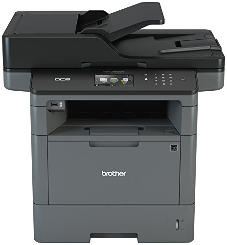 Brother Monochrome Laser Printer, Multifunction Printer and Copier, DCP-L5650DN, Flexible Network...