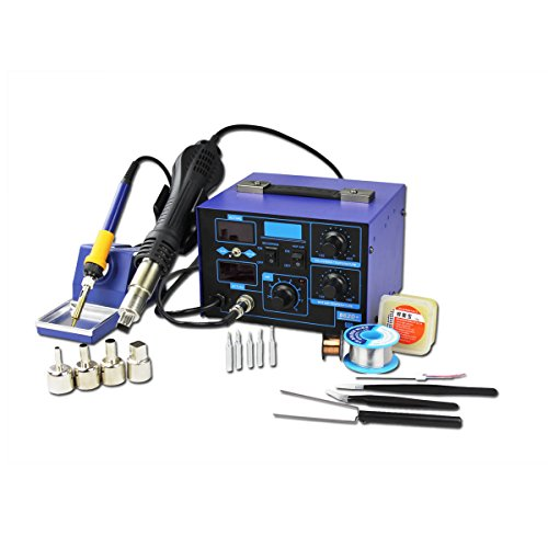 BACOENG 2in1 SMD Soldering Station 862D+ (Improved Version of 852 and 862)