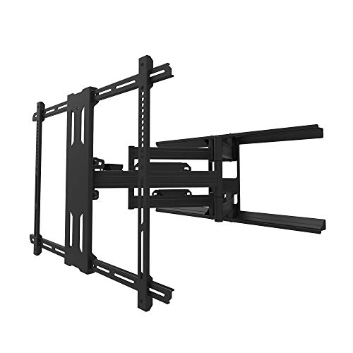 Kanto PDX700 Full Motion TV Wall Mount for 42-inch to 100-inch TVs | Supports up to 150 lbs (68 kg) | Swivel...