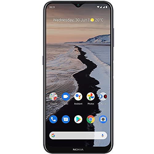 Nokia G10 | Android 11 | Unlocked Smartphone | 3-Day Battery | Dual SIM | US Version | 3/32GB | 6.52-Inch...