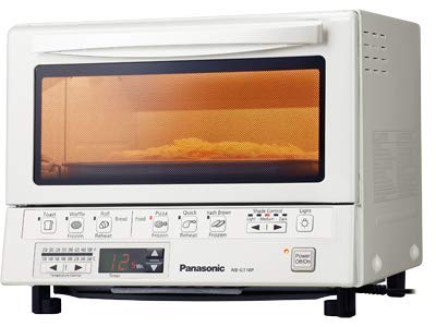 Panasonic FlashXpress Compact Toaster Oven with Double Infrared Heating, Crumb Tray and 1300 Watts of Cooking...