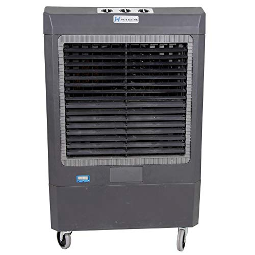 Hessaire MC61V Portable Evaporative Cooler, 5300 Cubic Feet per Minute, Cools 1,600 Square Feet