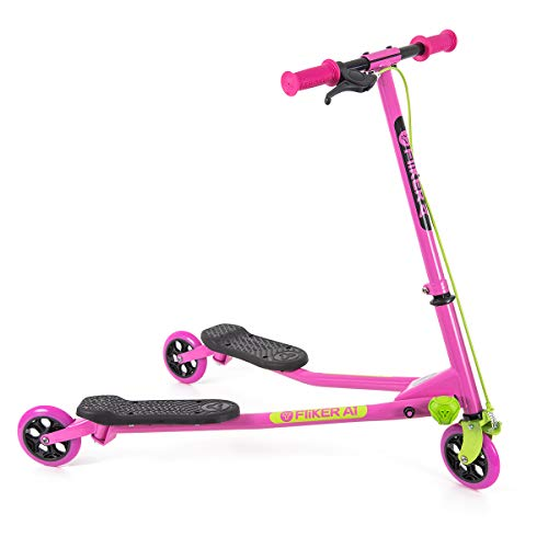 Yvolution B07DXZ8Y3P Y Fliker Air A1 Swing Wiggle Scooter | Three Wheels Drifter for Boys and Girls Age 5...