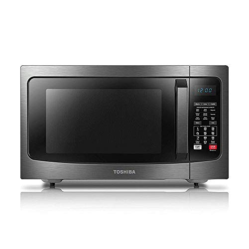 Toshiba EC042A5C-BS Countertop Microwave Oven with Convection, Smart Sensor, Sound On/Off Function and LCD...