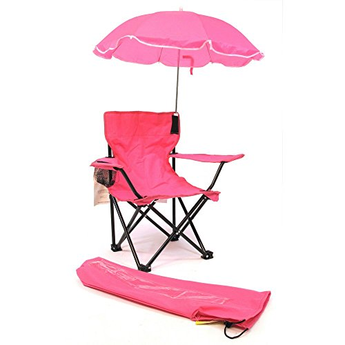 Redmon For Kids Beach Baby Kids Umbrella Camp Chair, Pink