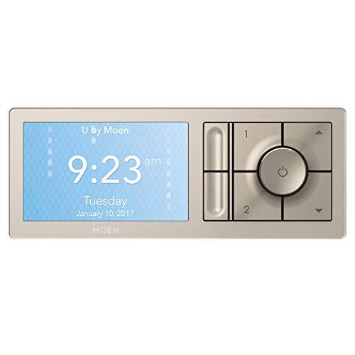 Moen TS3302TB U by Moen Shower Smart Home Connected Digital Bathroom Controller, 2-Outlet, Wall Mounted, Terra...