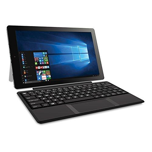 2018 RCA Cambio 2-in-1 10.1' Touchscreen Tablet PC, Intel Quad-Core Processor, 2GB RAM, 32GB SSD, Detachable...