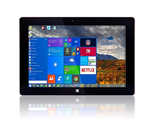 10' Fusion5 Ultra Slim Windows Tablet PC- (Full Size USB 3.0, Intel Quad-core, 5MP and 2MP Dual Cameras, HDMI,...
