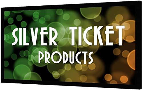 STR-169120 Silver Ticket 120' Diagonal 16:9 4K Ultra HD Ready HDTV (6 Piece Fixed Frame) Projector Screen...