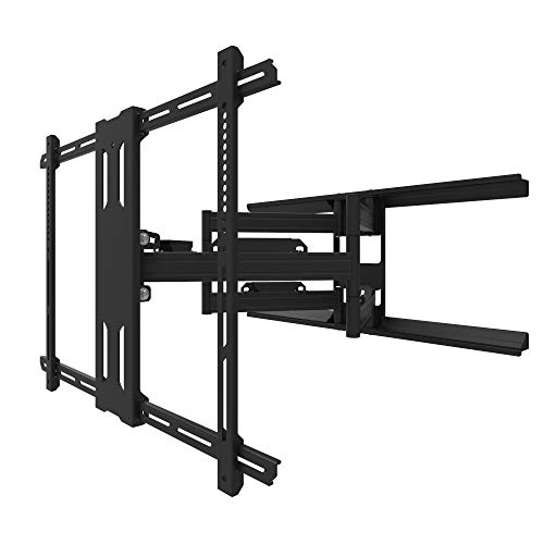Kanto PDX700G Outdoor Full Motion Articulating Arms TV Wall Mount for 42-inch to 100-inch TVs, Galvanized |...