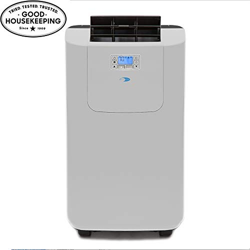 Whynter Elite ARC-122DS 12,000 BTU Dual Hose Portable Air Conditioner, Dehumidifier, Fan with Activated Carbon...