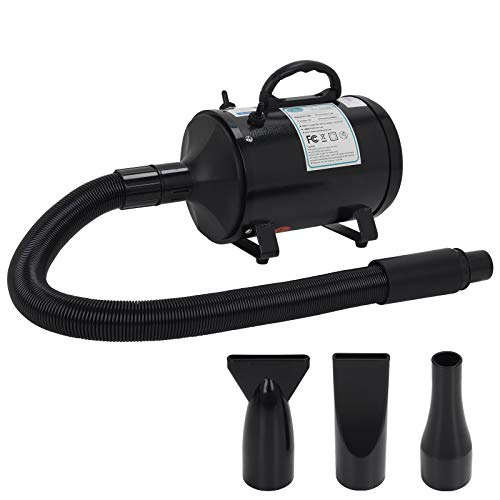 winniehome Professional Grooming Dog Hair Dryers for Dogs and Cats,3.2HP Stepless Adjustable Speed Pet Hair...