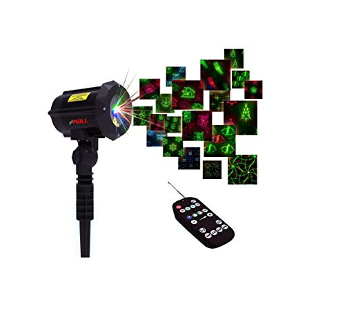 Motion Pattern Firefly 3 Models in 1 Continuous 18 Patterns LEDMALL RGB Outdoor Laser Garden and Christmas...