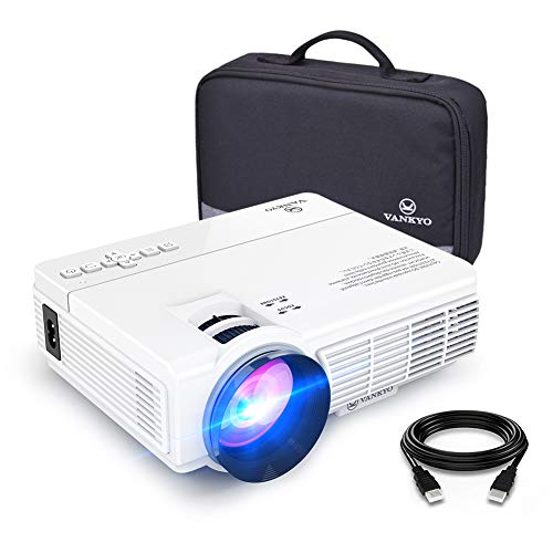 VANKYO LEISURE 3 Mini Projector, 1080P and 170'' Display Supported, Portable Movie Projector with 40,000 Hrs...