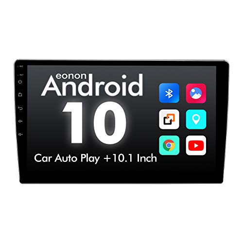 2020 Double Din Car Stereo,Android 10 Radio with Bluetooth 4.0,Built-in DSP, Eonon 10.1 Inch Car Radio with...