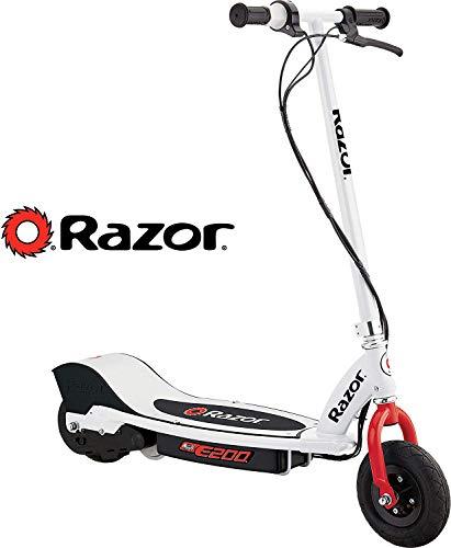 Razor E200 Electric Scooter - White - FFP